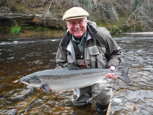 Another cracking Spring salmon from Altyre Estate, River Findhorn