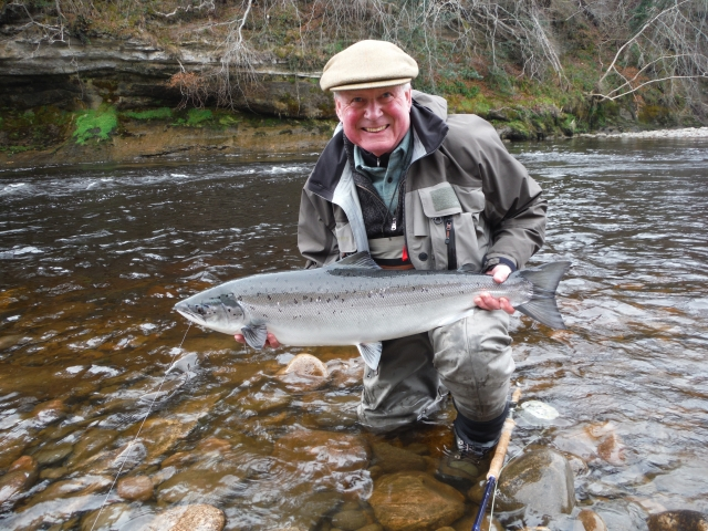 Ian Neale - 18 lbs - Soldiers' Hole, Altyre Estate, River Findhorn