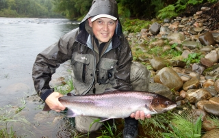Leslie Tyson - 15 lbs., Roehillock Pool, Altyre Estate, River Findhorn