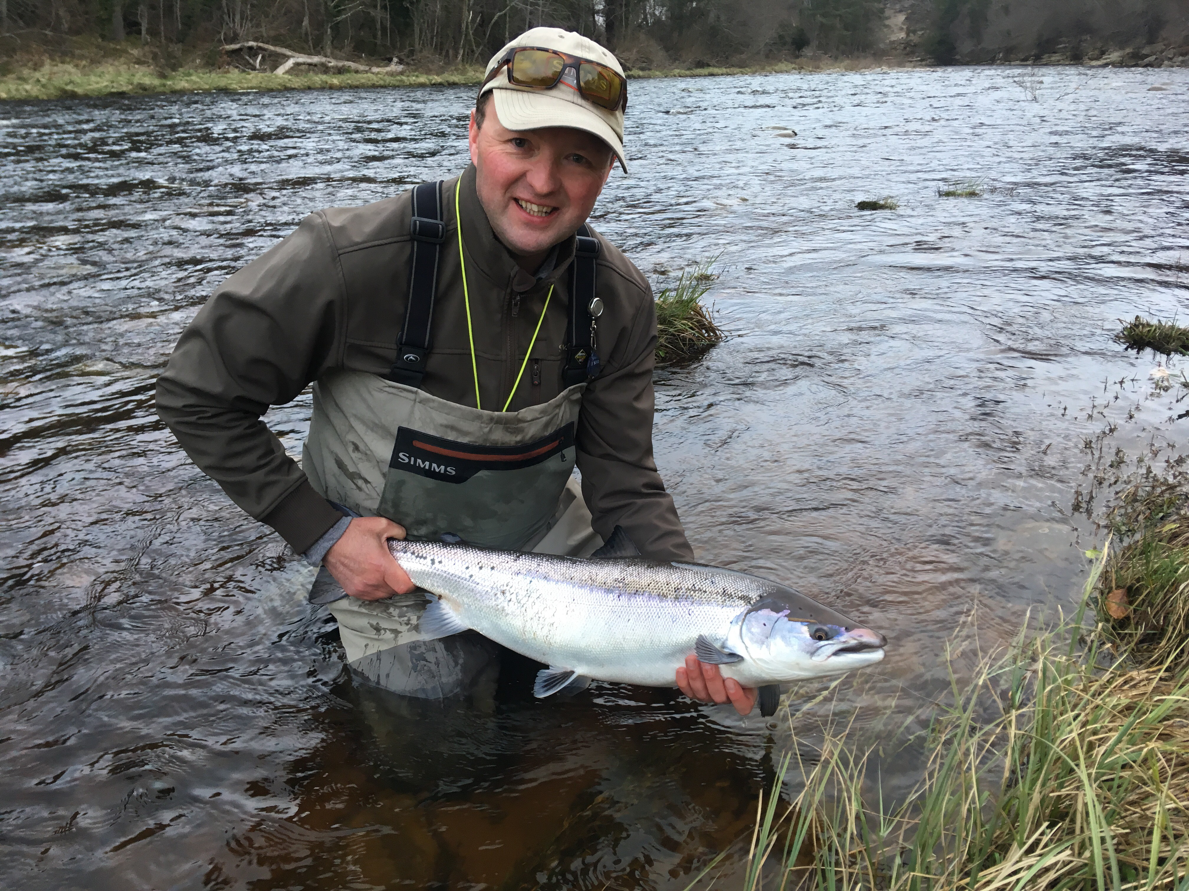 Rob Newton, 14 lbs., Garden Pool, Altyre Estate, River Findhorn
