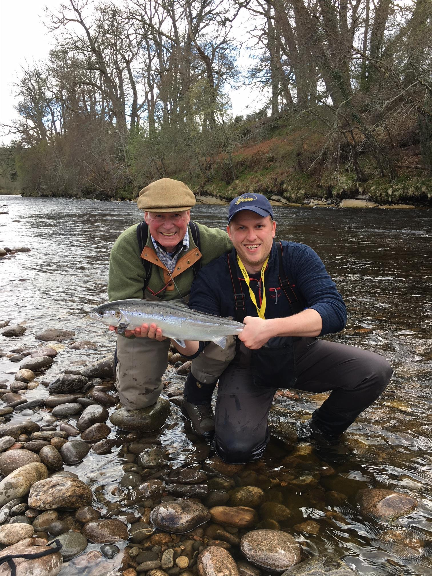 Jon Jonsson, 8 lbs. Roan Pool, Altyre Estate, River Findhorn