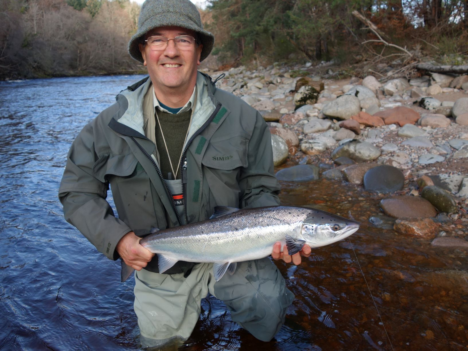 David Clark, 8lbs Palamore, Altyre Estate, River Findhorn