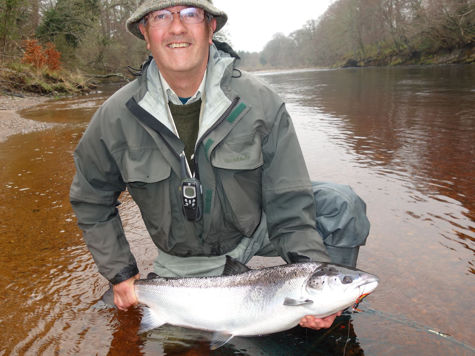 David Clark, 20 lbs, Scur Pool on Meads of St. John at Darnaway, River Findhorn
