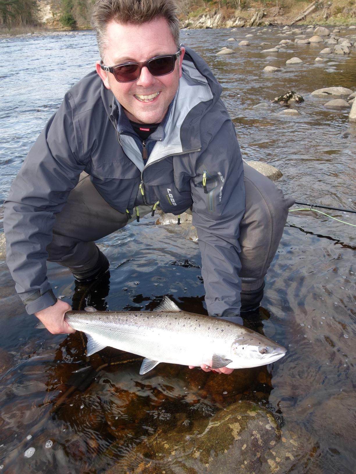Adam MacDonald 10 lbs, Garden Pool on Altyre Estate, River Findhorn