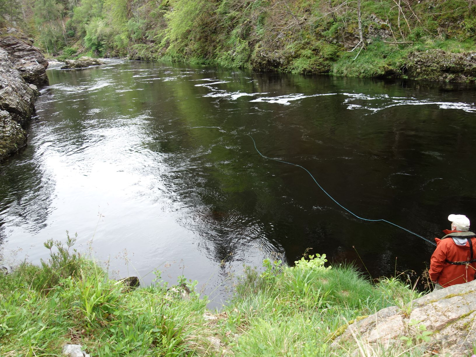 Craigie Pool, Upper Home Beat, Darnaway, River Findhorn