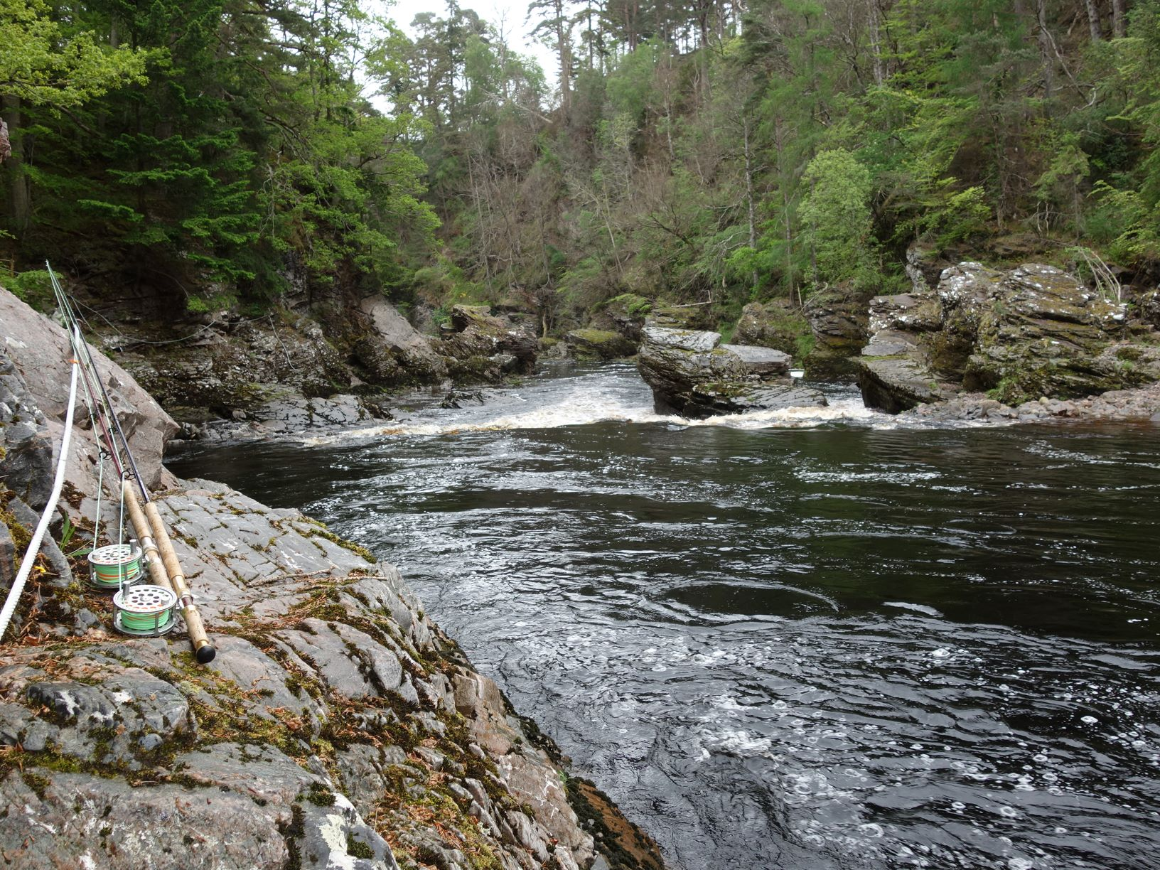 Whirling Hole, Upper Home Beat, Darnaway, River Findhorn