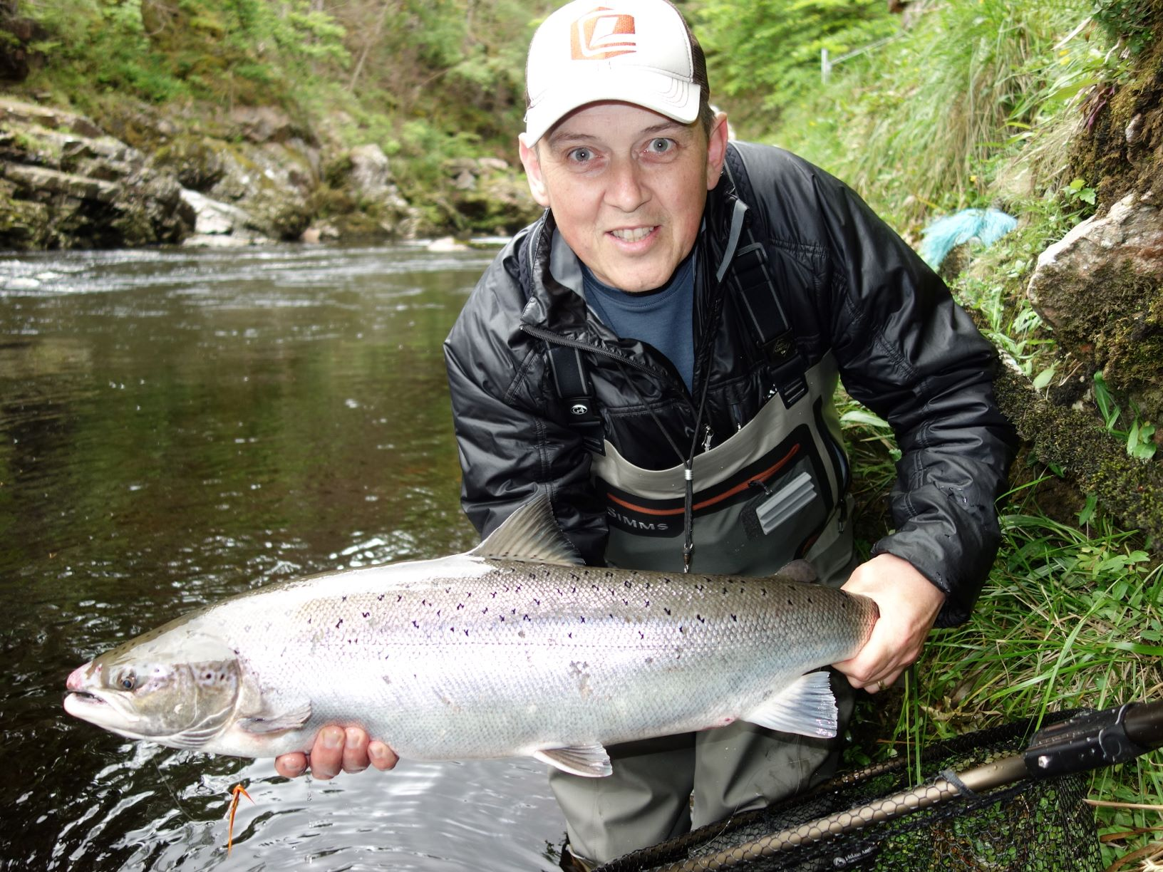 Leslie Tyson, 16 lbs., Craigie Pool, Upper Home Beat, Darnaway, River Findhorn