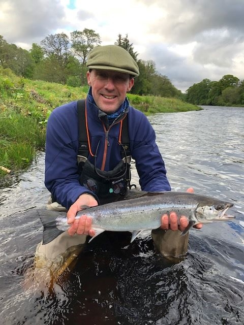 Stuart Irwin, 8 lbs. Garden Pool, Altyre Estate, River Findhorn