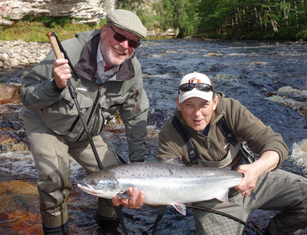 Salmon Fishing News Update and Review of the Summer salmon fishing on Altyre Estate, River Findhorn from early June to early August 2020